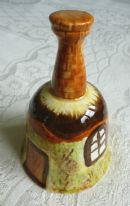 zz Price Kensington Cottage Ware - vintage ornamental pottery bell (SOLD)